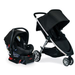 B-Lively/B-Safe 35 Travel System- Raven