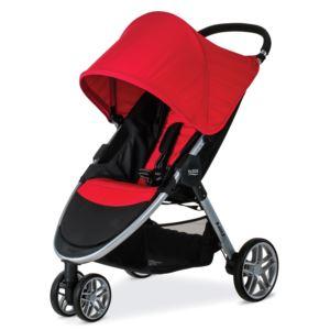 B-Agile 3 Stroller - Red