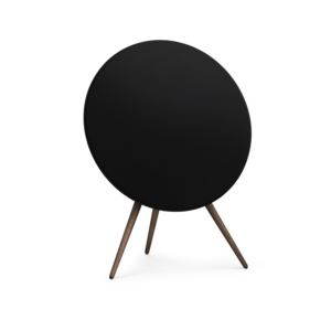 BeoPlay A9 Home Speaker Black with Walnut Legs