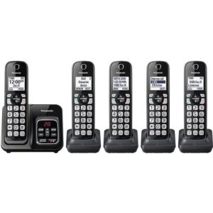 Expandable Cordless Phone with Call Block and Answering Machine
