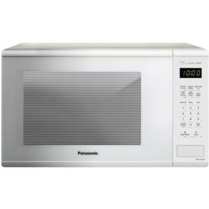 1.3 Cu. Ft. 1100W Genius Sensor Countertop Microwave Oven  in White