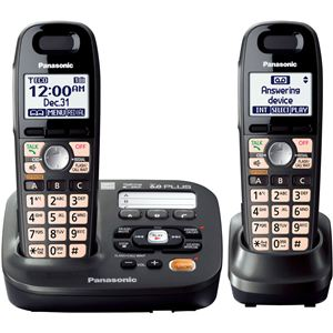 DECT 6.0 Plus Expandable Answer System w/2 Handsets