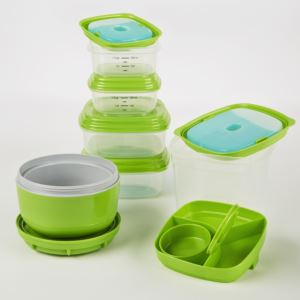 Fresh Selects Lunch Container Set (Soup, Salad, Sandwich, Side)