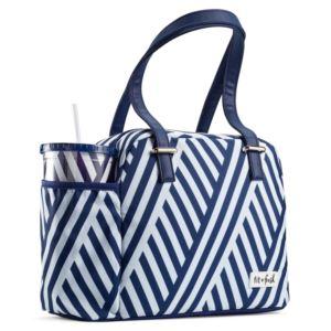 Laketown Bag - Stripe Navy