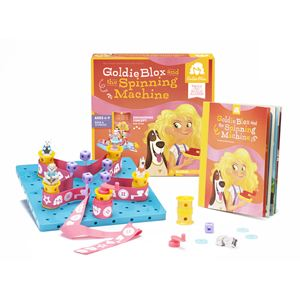 GoldieBlox and the Spinning Machine Ages 4-9 Years