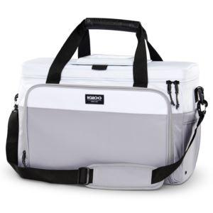 Coast Cooler 36 Can Duffel Bag Cooler White/Gray