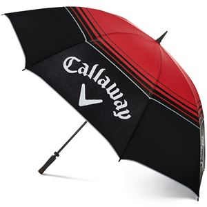 Callaway Tour Authentic 68 inch Umbrella - Black/Red-