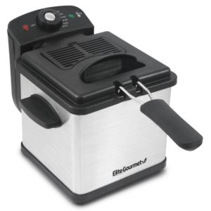 1.6qt Immersion Stainless Steel Deep Fryer