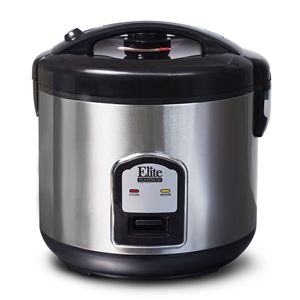 Platinum 10-Cup Stainless Steel Rice Cooker
