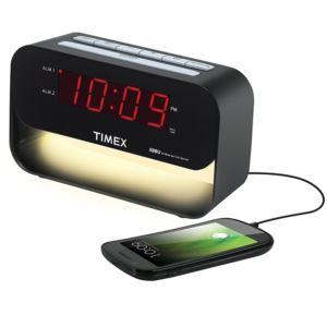 Dual Alarm Clock with Night Light