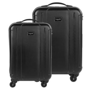 Hard Luggage 2-Piece Set Black