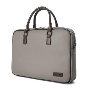 Bugatti Contrast Briefcase-Grey