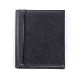Bugatti Valentino Journal - Vegan Leather Black