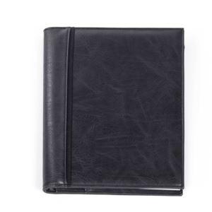 Bugatti Valentino Journal - Vegan Leather Black