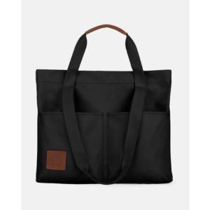 Mouflon - Monarch Collection Shopper Tote Bag-Black