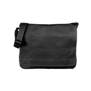 """Soledad Messenger Bag Black 15"""""""