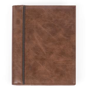 Bugatti Valentino Journal - Vegan Leather Cognac