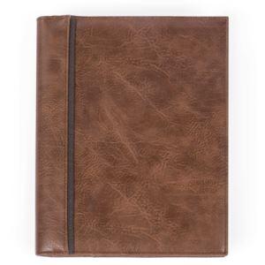 Bugatti Valentino Journal - Vegan Leather Cognac
