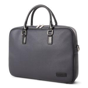 Bugatti Contrast Briefcase-Navy