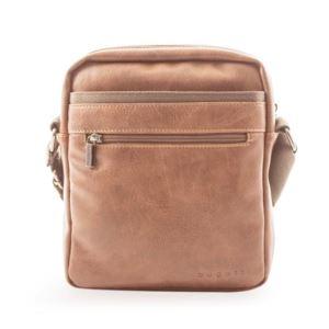 "Valentino Messenger Bag - Vegan Leather  Cognac 11"""
