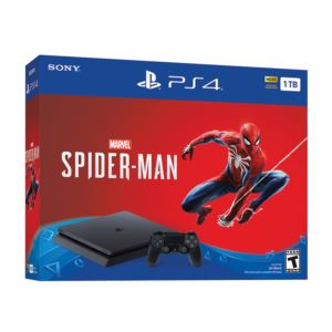 PS4 Slim 1TB With Spiderman Game and Controller