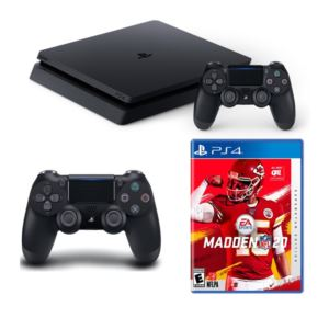 PS4 Slim With Madden 20 And Dual Shock Controller