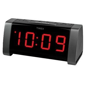 AM/FM Dual Alarm Clock Radio w/ Jumbo Display