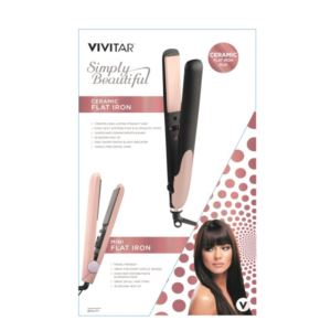 Ceramic Flat Iron Duo Set