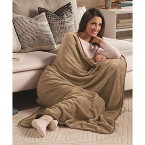 Nap Throw Blanket-CAMEL