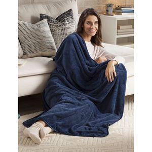 Nap Throw Blanket-Sapphire