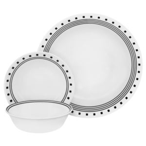 Livingware 16-Pc Set, Service for 4 (City Block)