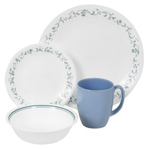 "Livingware 16-Piece Set, Service for 4,"" Country Cottage"