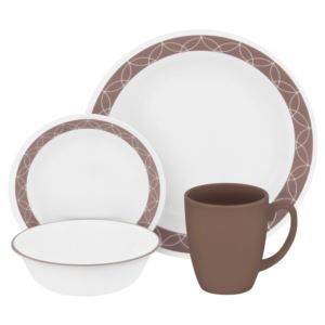 Livingware 16-Pc Set, Service for 4 (Sand Sketch)