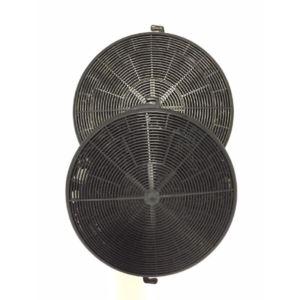 Set of 2 Charcoal Filters for Range Hoods