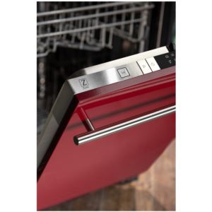 18'' Top Control Dishwasher  - Red Gloss
