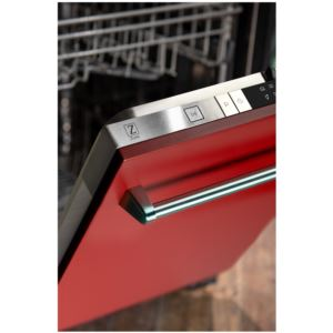 18'' Top Control Dishwasher - Red Matte