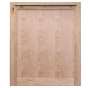 24'' Dishwasher Panel MH - Unfinished Wood