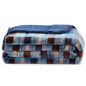 2 PC Weighted Comforter Set Twin 20 lb