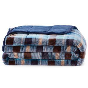 3 PC Weighted Comforter Set Queen 30 lb