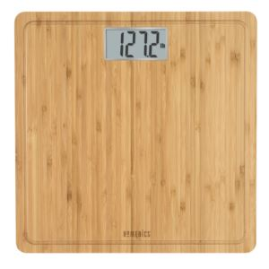 Natural Bamboo Digital Bathroom Scale