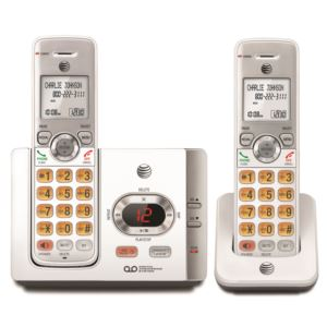 2 Handset Answering System w/ Caller ID/Call Waiting