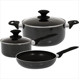 Strain NS Aluminum 5Pc Cookware Set