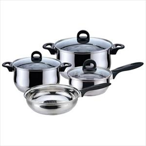 Bohemia Stainless 7Pc Cookware Set