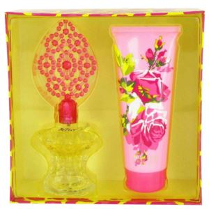 Gift Set - 3.4 oz Eau De Parfum Spray and 6.7 oz Body Lotion