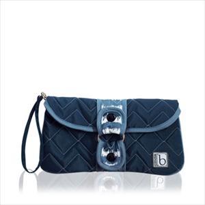 cinda b-Wrap-A-Round Clutch - Shibori Blue