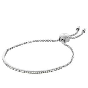 Pave Bar Slider Bracelet