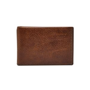 Mens Beck Money Clip Bifold Brown