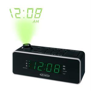 Dual Alarm AM/FM Projection Clock Radio