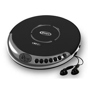 Personal CD Player with Bass Boost with 60 Second ASP