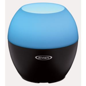 Bluetooth Wireless Speaker with Color Changing LED Lamp